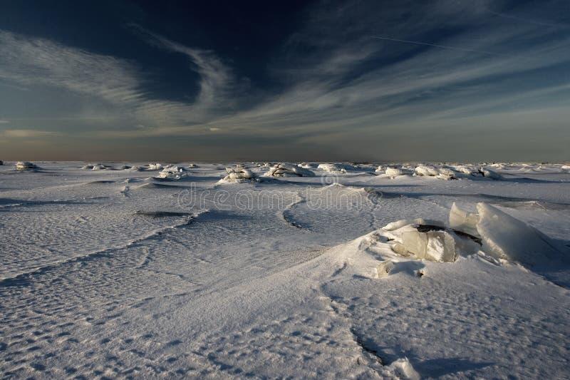 Periodo di glaciazione. immagine stock libera da diritti