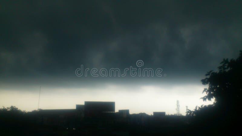 Periodo di pioggia fotografie stock libere da diritti