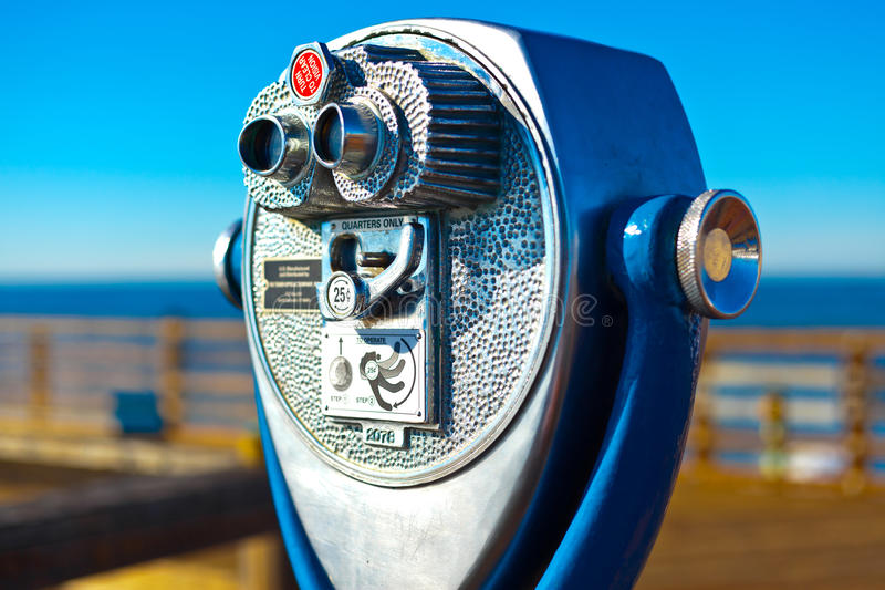 Periscope at Pier stock images