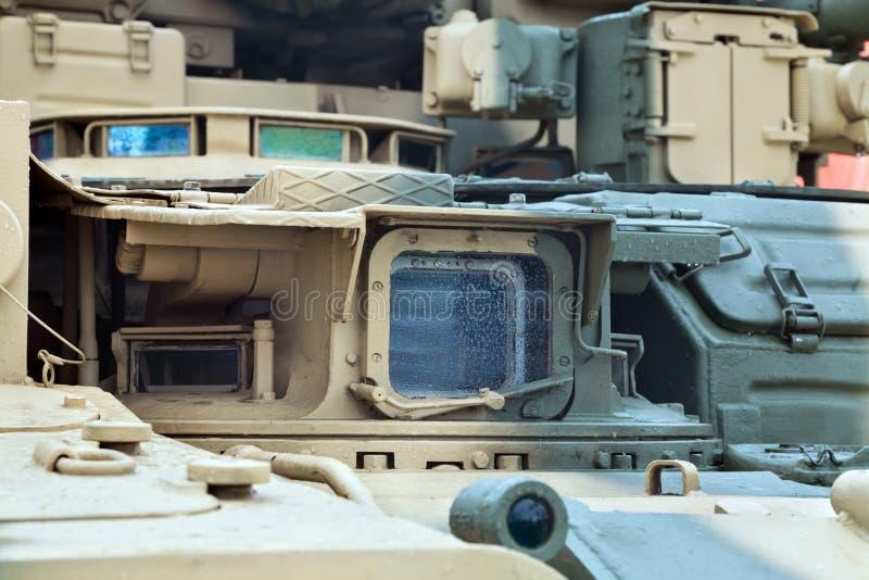 Periscopio del tanque imágenes de archivo libres de regalías
