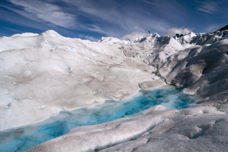 Perito莫尔诺冰川,巴塔哥尼亚,阿根廷 库存照片