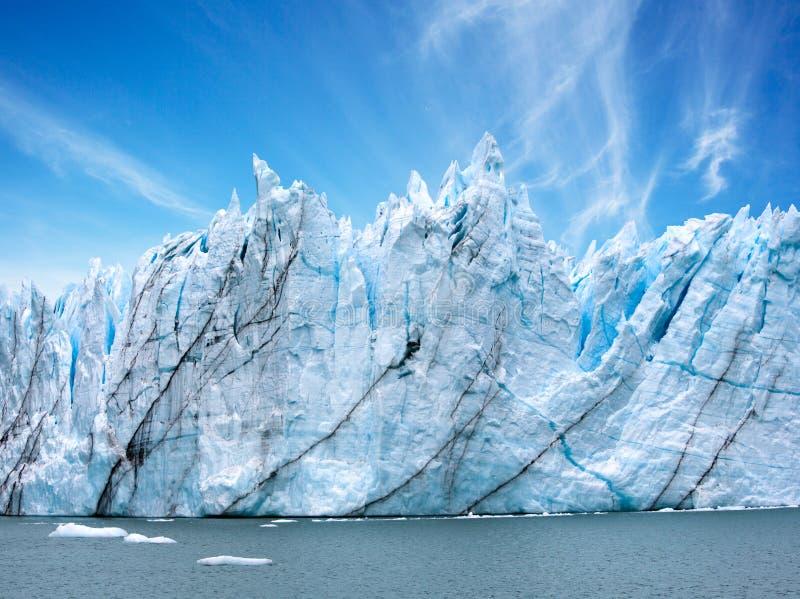Perito莫尔诺冰川,阿根廷 库存图片