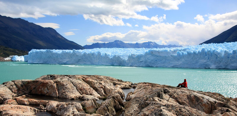 perito του Moreno παγετώνων της Αργεντινής στοκ φωτογραφία με δικαίωμα ελεύθερης χρήσης