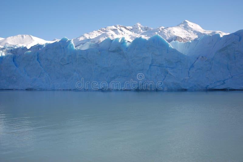 perito avant de Moreno de glace photographie stock