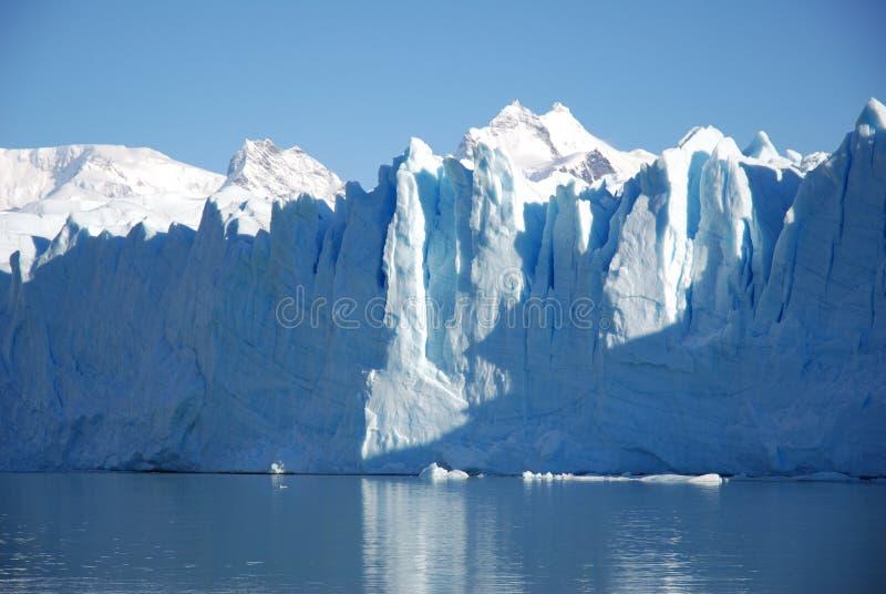 perito avant de Moreno de glace photo stock