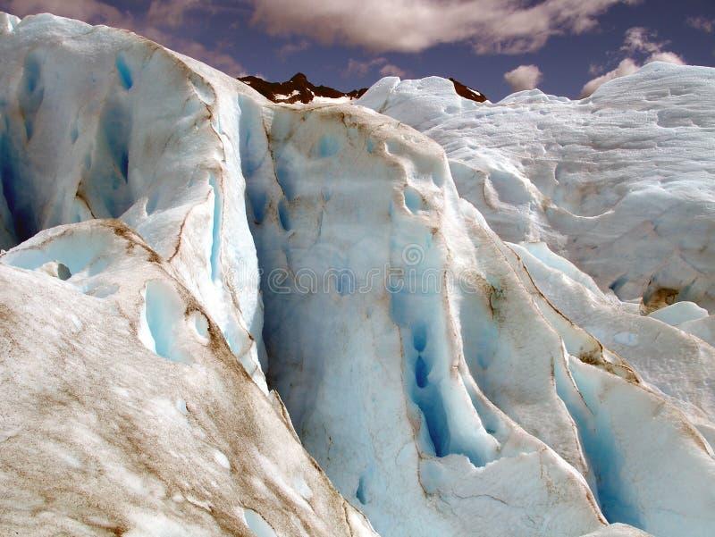 perito de patagonia de Moreno de glacier de l'Argentine photographie stock