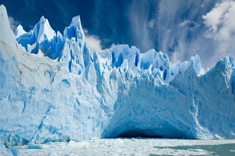 perito för argentina glaciärmoreno patagonia arkivfoto