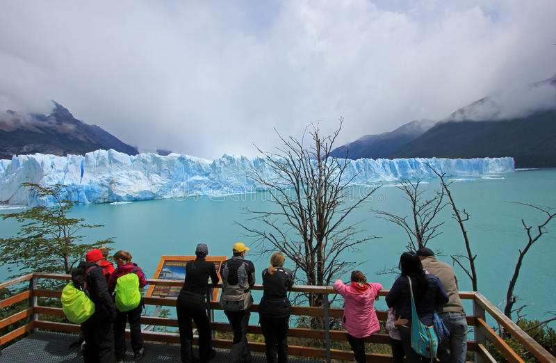 perito för argentina glaciärmoreno patagonia royaltyfri foto