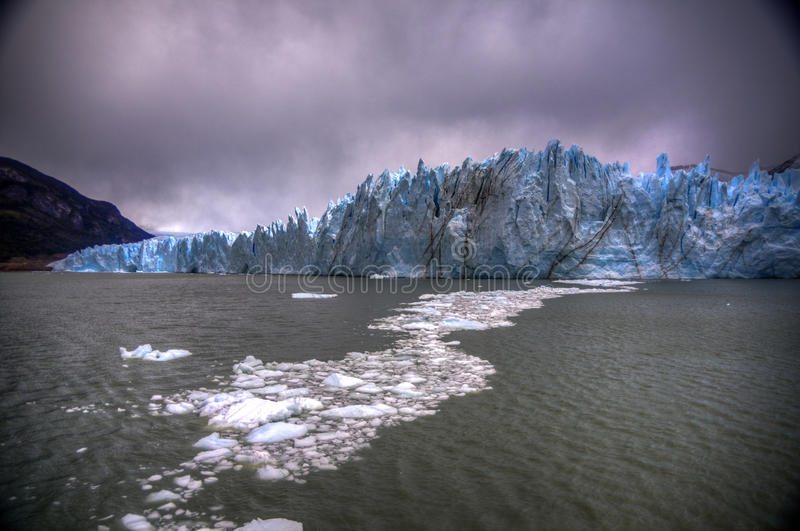 perito moreno ледника Аргентины стоковые изображения
