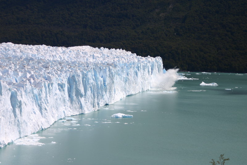 Perito Moreno obrazy royalty free