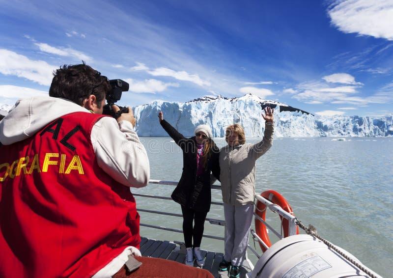 Perito Moreno image libre de droits
