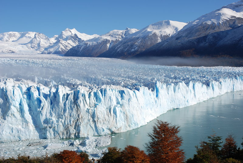 Perito Moreno royalty free stock photo