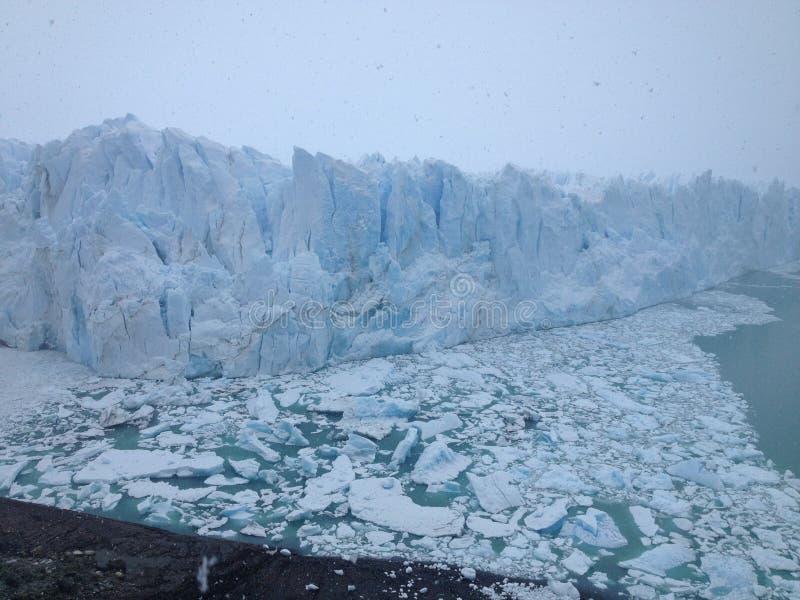 Perito Moreno glaciär, El Calafate, Argentina royaltyfria foton