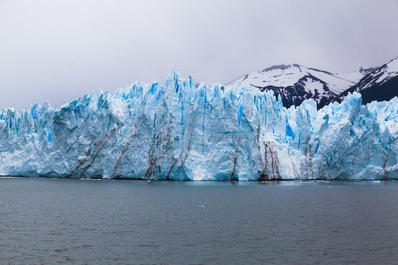 Perito Moreno Glaci3r la Argentina imagen de archivo libre de regalías