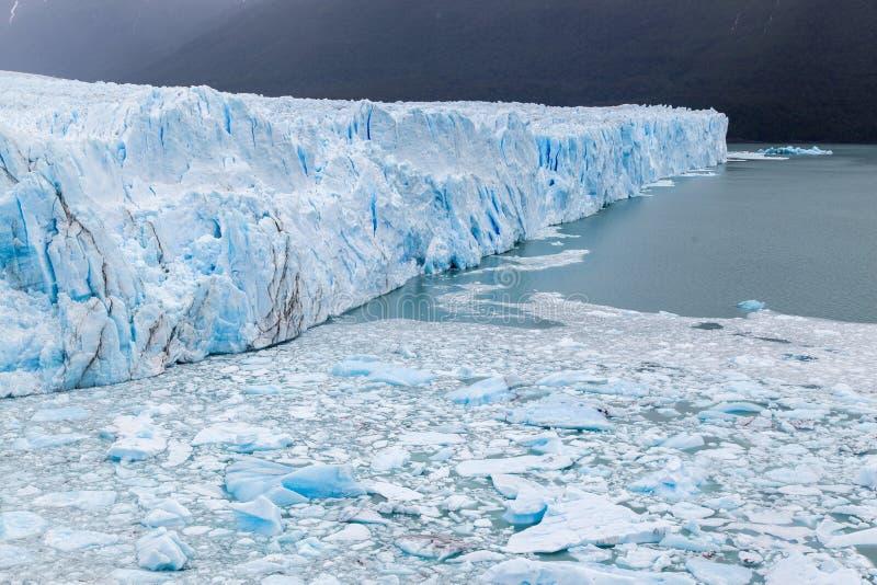 Perito Moreno Glaci3r la Argentina fotografía de archivo