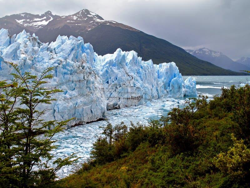Perito Moreno Glaciar obraz stock