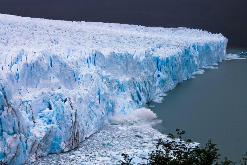 Perito Moreno Glaciar la Argentina imagen de archivo