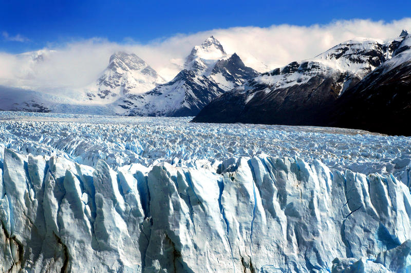 Perito Moreno Glacier fotos de archivo libres de regalías