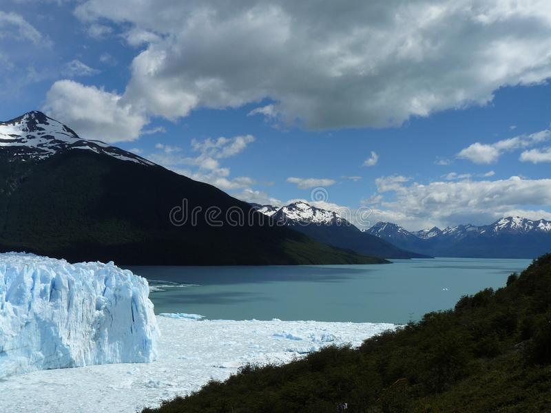 Perito Moreno glacier (Argentina) stock photo