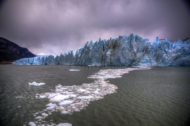 Perito Moreno Glacier, Argentina stock images