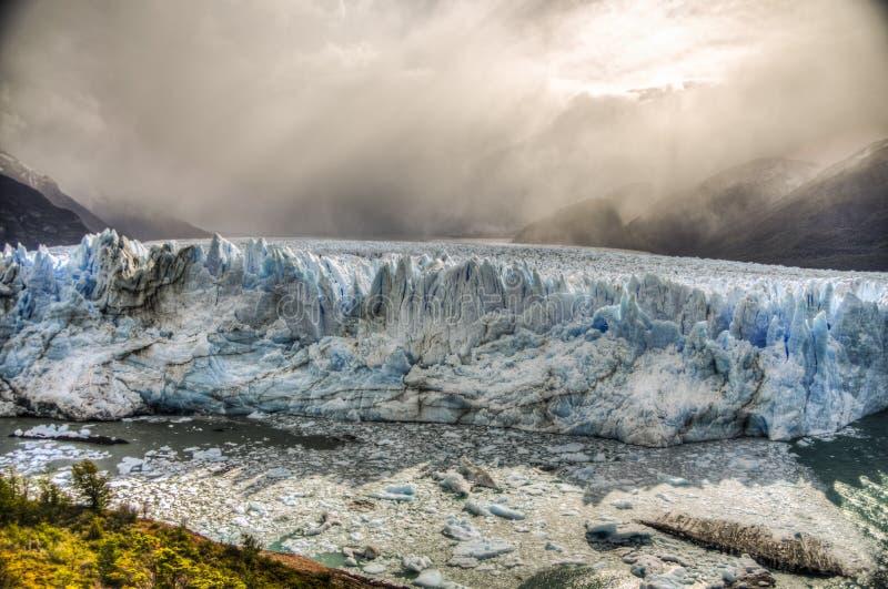 Perito Moreno Glacier, Argentinië royalty-vrije stock fotografie