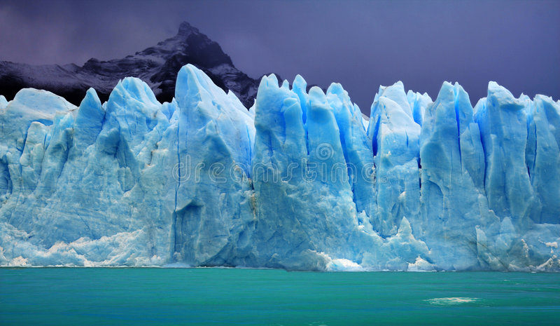 Perito Moreno Glacier, Argentinië stock foto's