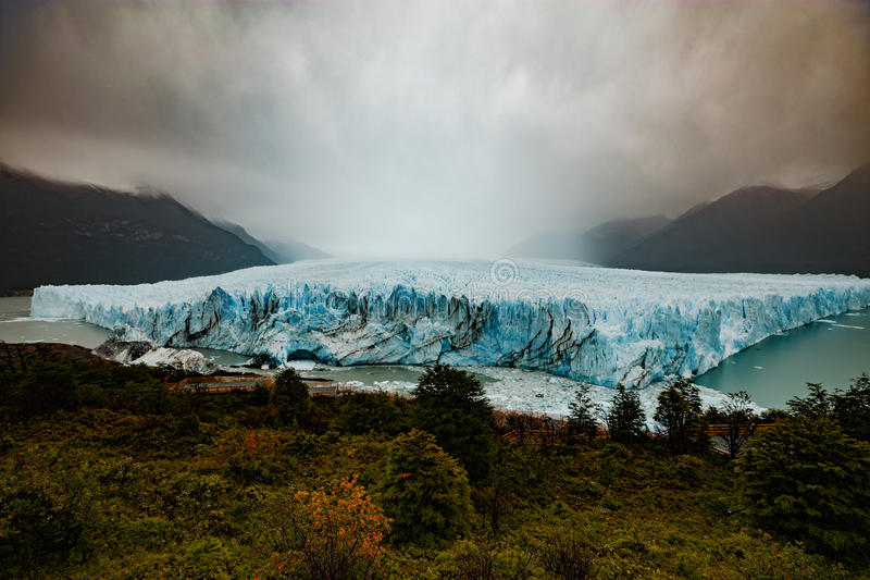 Perito Moreno Glacier, Argentino Lake, Patagonia, Argentina stock images