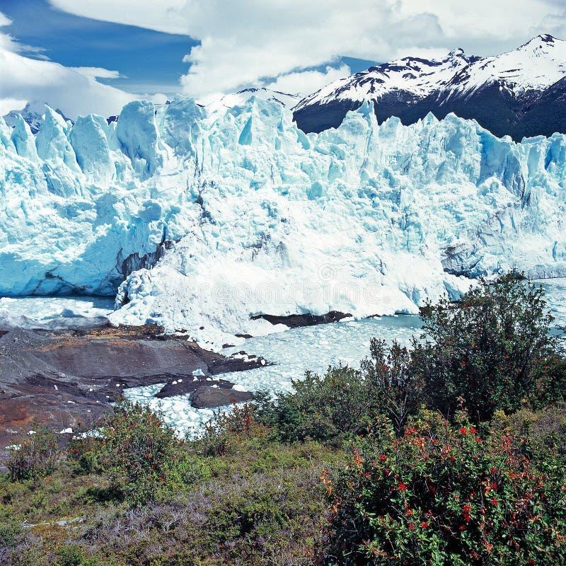 Perito Moreno Glacier, EL Calafate, εθνικό πάρκο Los Glaciares στοκ φωτογραφίες με δικαίωμα ελεύθερης χρήσης