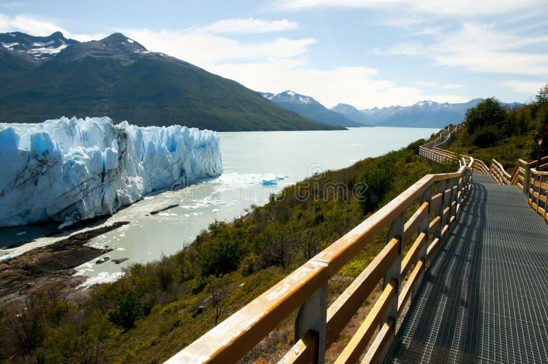 Perito Moreno Glacier - EL Calafate - la Argentina foto de archivo libre de regalías