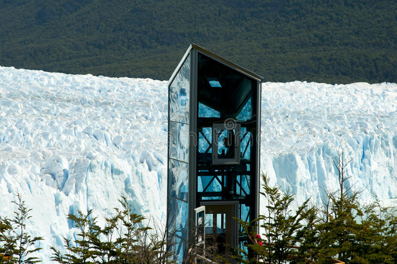 Perito Moreno Glacier - EL Calafate - la Argentina imagen de archivo