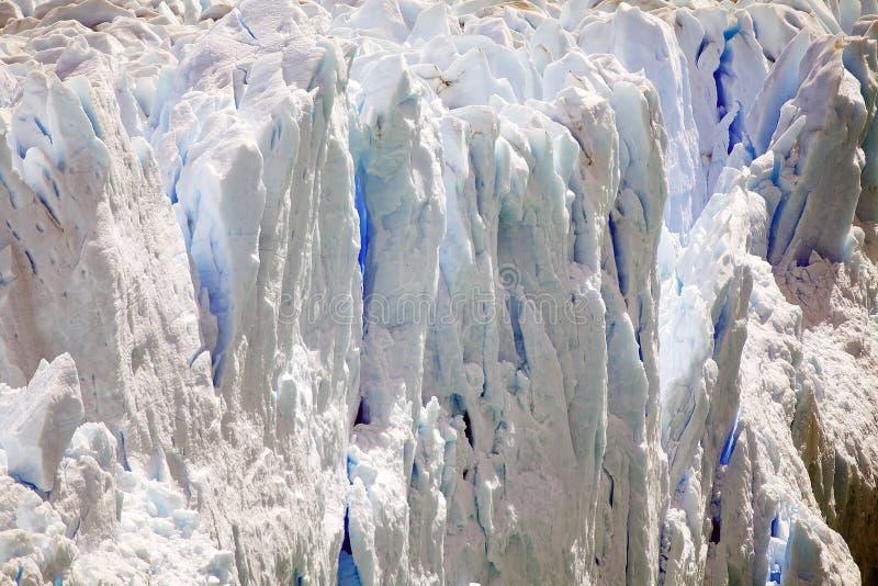 Perito Moreno Glacier en el parque nacional del Los Glaciares, Patagonia, la Argentina fotografía de archivo