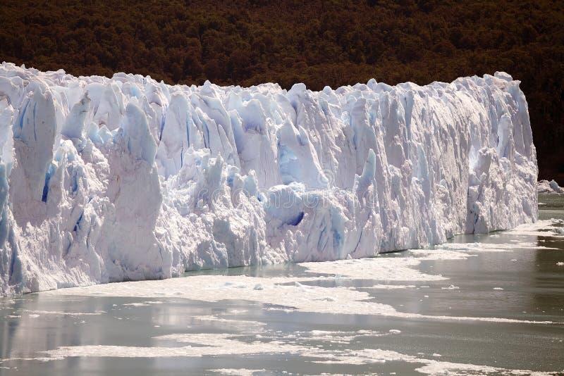Perito Moreno Glacier en el parque nacional del Los Glaciares, Patagonia, la Argentina foto de archivo libre de regalías