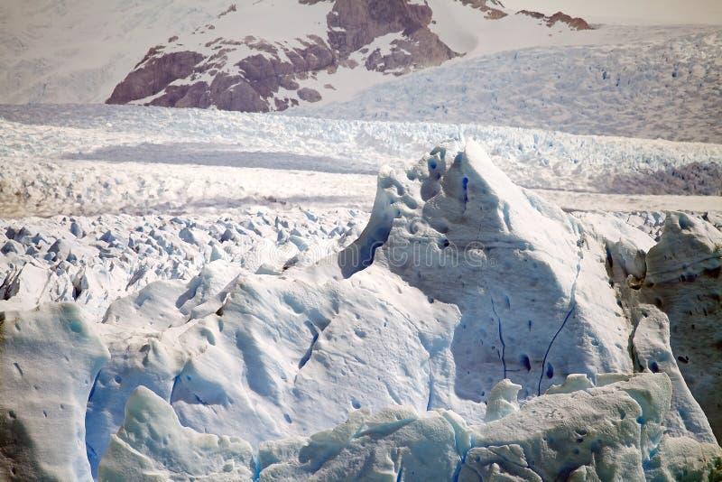 Perito Moreno Glacier en el parque nacional del Los Glaciares, Patagonia, la Argentina imagenes de archivo
