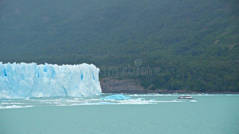 Perito Moreno Glacier en parque nacional del Los Glaciares en la Argentina fotos de archivo libres de regalías
