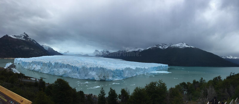 Perito Moreno Glacier - fenômeno natural foto de stock royalty free