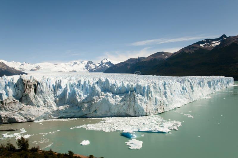 Perito Moreno Glacier - Gr Calafate - Argentinië stock fotografie