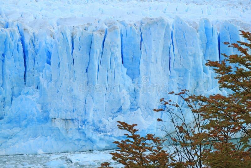 Perito Moreno Glacier in het Meer Agentino, Los Glaciares Nationaal Park, Gr Calafate, Patagonië, Argentinië, Zuid-Amerika stock afbeelding