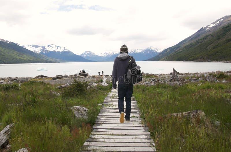 Perito Moreno Glacier Lake fotos de archivo