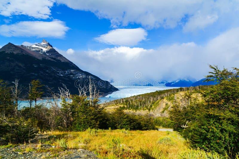 Perito Moreno Glacier nel Glacier National Park di Los fotografia stock libera da diritti