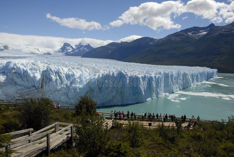 Perito Moreno Glacier in Patagonië, Argentinië. royalty-vrije stock fotografie
