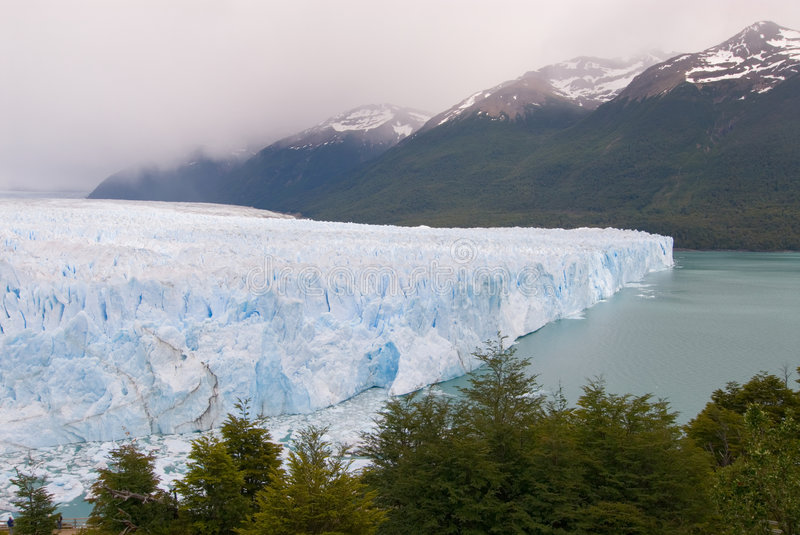 Perito Moreno Glacier in Patagonia stock photos