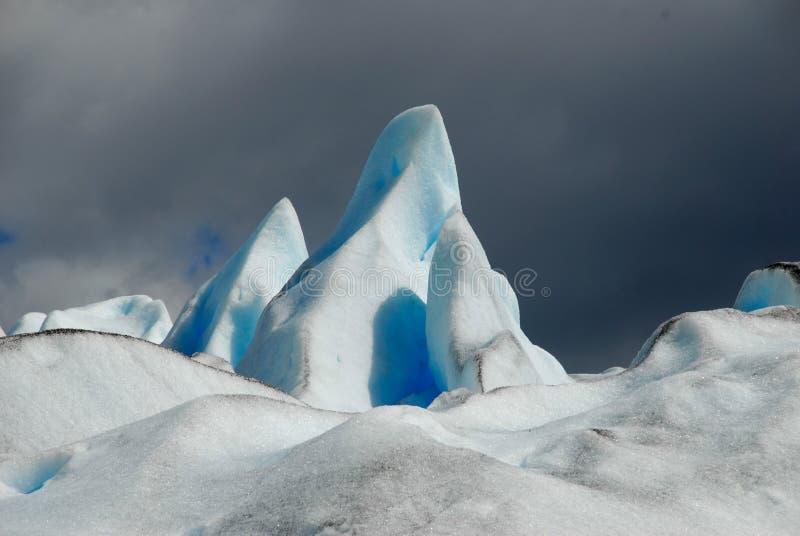 The Perito Moreno Glacier in Patagonia, royalty free stock photography
