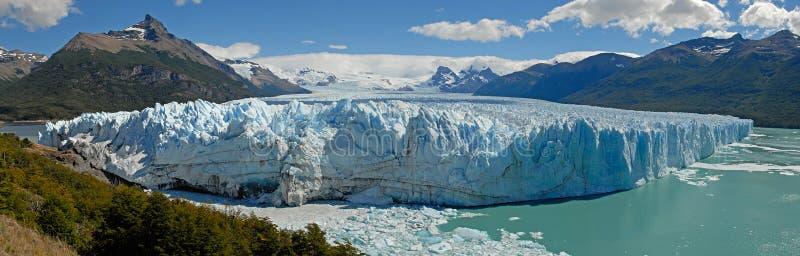 The Perito Moreno Glacier in Patagonia, Argentina. royalty free stock image