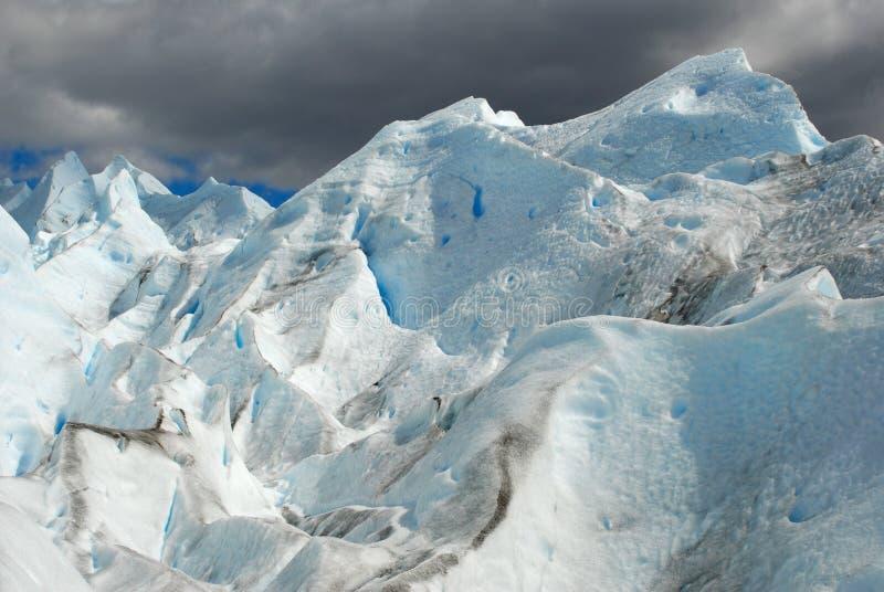 The Perito Moreno Glacier in Patagonia, Argentina. stock photo
