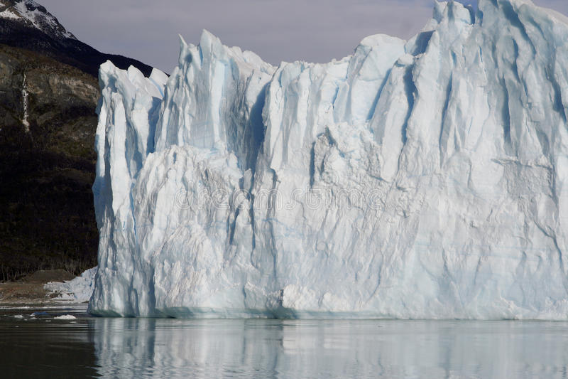Perito Moreno Glacier in Patagonia, Los Glaciares National Park, Argentina stock images