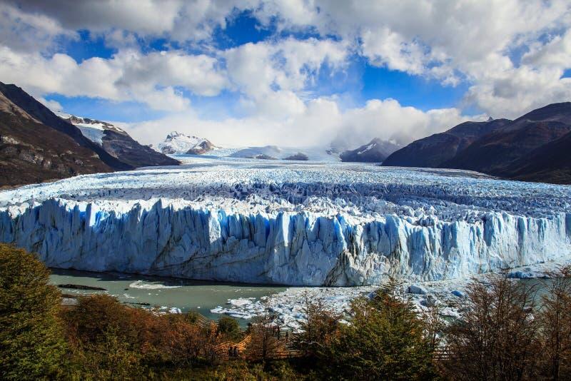Perito Moreno Glacier, Santa Cruz, Patagonië, Argentinië royalty-vrije stock foto