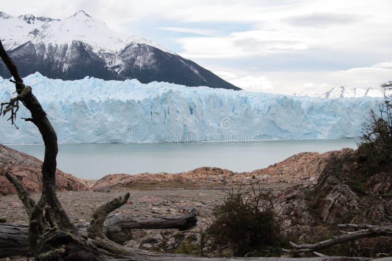 Perito Moreno Gletscher stockfotos
