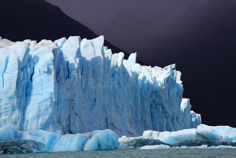 Perito Moreno Gletscher, Argentinien stockfotos