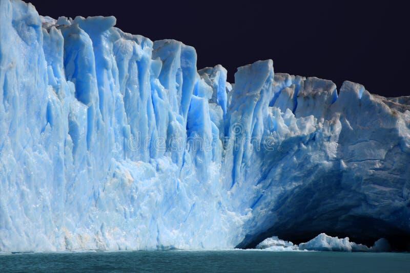 Perito Moreno Gletscher, Argentinien lizenzfreie stockbilder