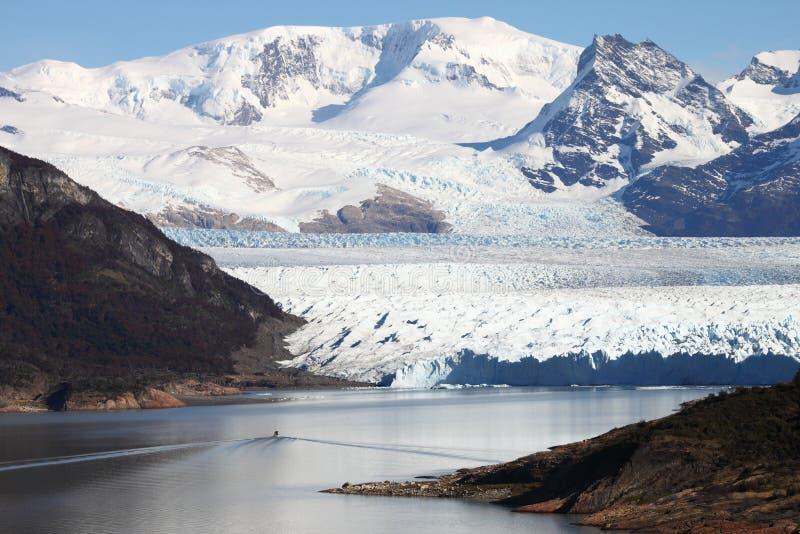 Perito Moreno Gletscher lizenzfreies stockfoto